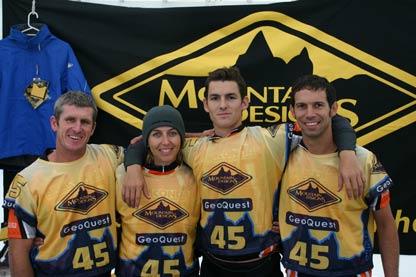 Adventure Racing - Brad, Me, Paul and Trev