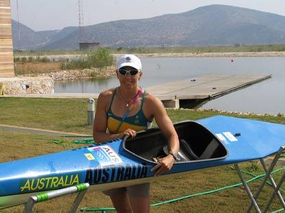 Athens Olympics - My 'Old Blue' Kayak