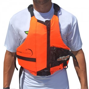 Oceanpaddler-PFD-Orange-front