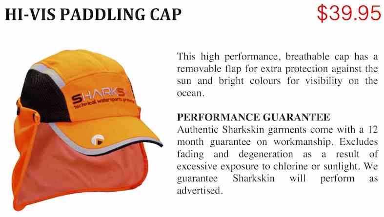 PADDLING CAP HI-VIS